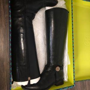 Tori Burch riding boots (black)
